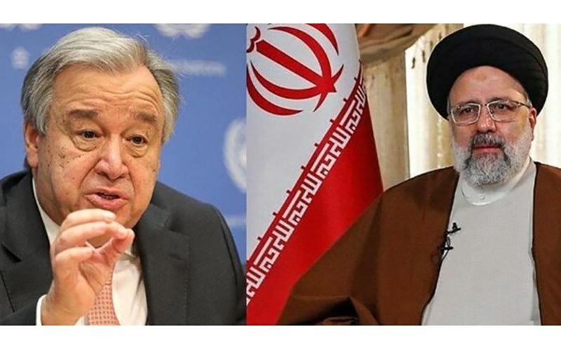 پیام مهم دبیر کل سازمان ملل به رئیس جمهوری ایران