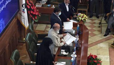 چمران رئیس و سروری نایب رئیس شورای شهر تهران شد