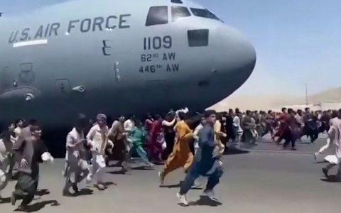 کشف بقایای جسد یک شهروند افغان در ارابه فرود هواپیمای آمریکایی