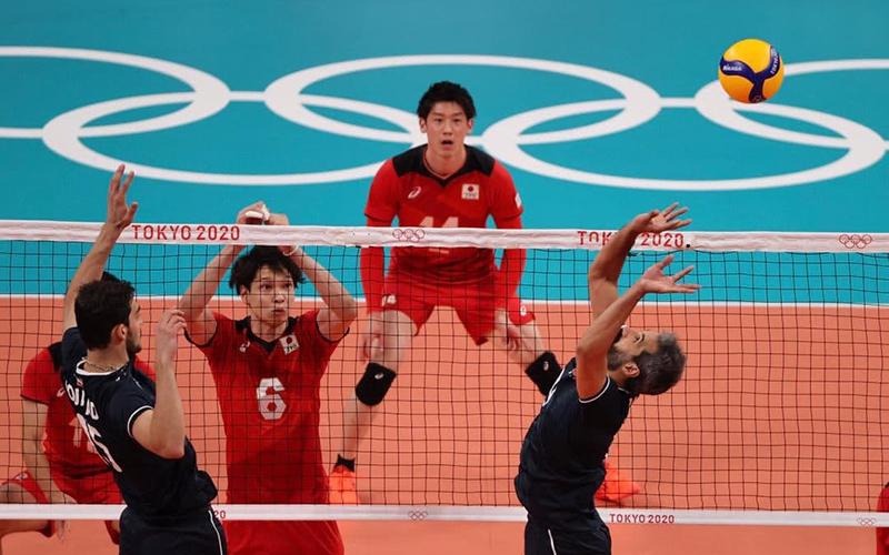 گزارش لحظه به لحظه والیبال المپیک