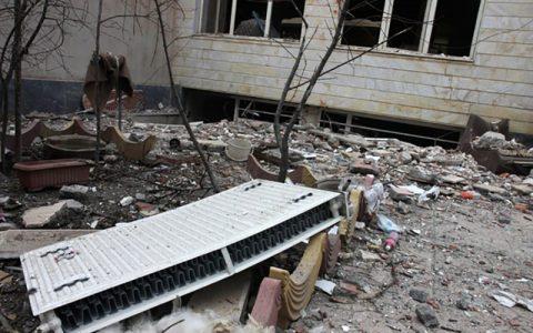  انفجار گاز در هرسین 5 عضو یک خانواده را مصدوم کرد