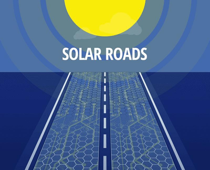 جاده های خورشیدی