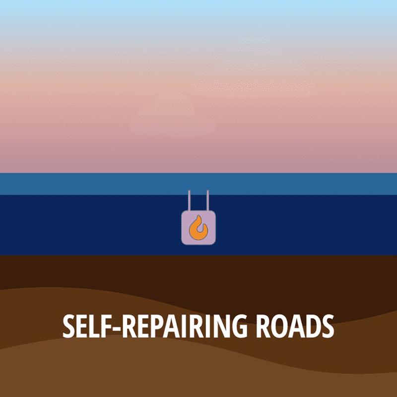 جاده های خودترمیم