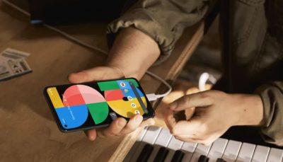 گوشی جدید پیکسل 5ای گوگل با باتری پرظرفیت رونمایی شد