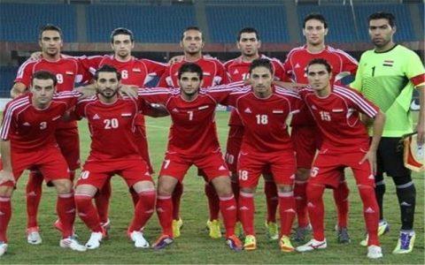 تیم ملی فوتبال سوریه وارد ایران شد