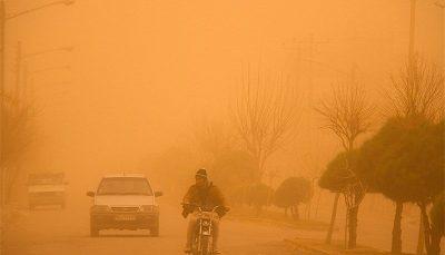 وقوع گرد و غبار در هرمزگان از پنجشنبه