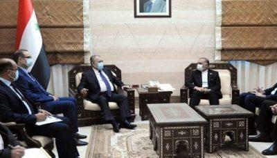 دیدار سفیر ایران با نخست وزیر سوریه و تاکید بر گسترش همکاری