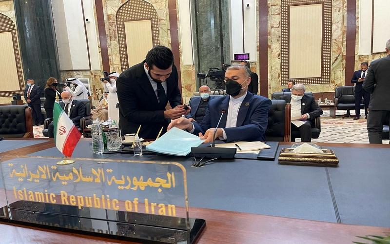 دیدار امیرعبداللهیان با نخست وزیر امارات