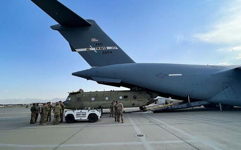 خروج سربازان آمریکایی از افغانستان/ تصاویر