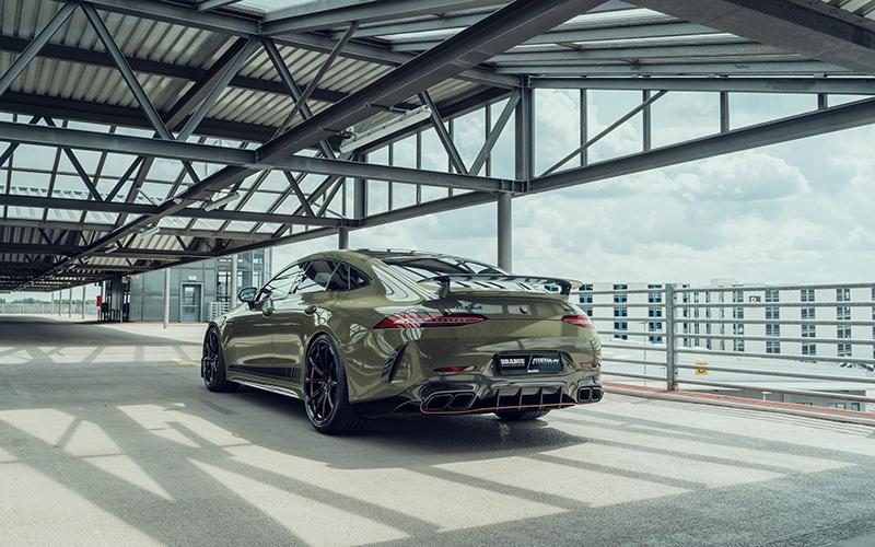 مرسدس AMG GT63 S برابوس با قدرت ۸۰۰ اسب بخار معرفی شد