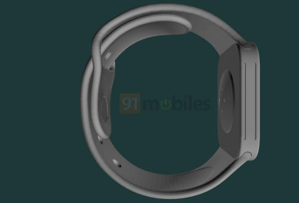 اولین تصاویر رندر شده ساعت اپل واچ سری 7