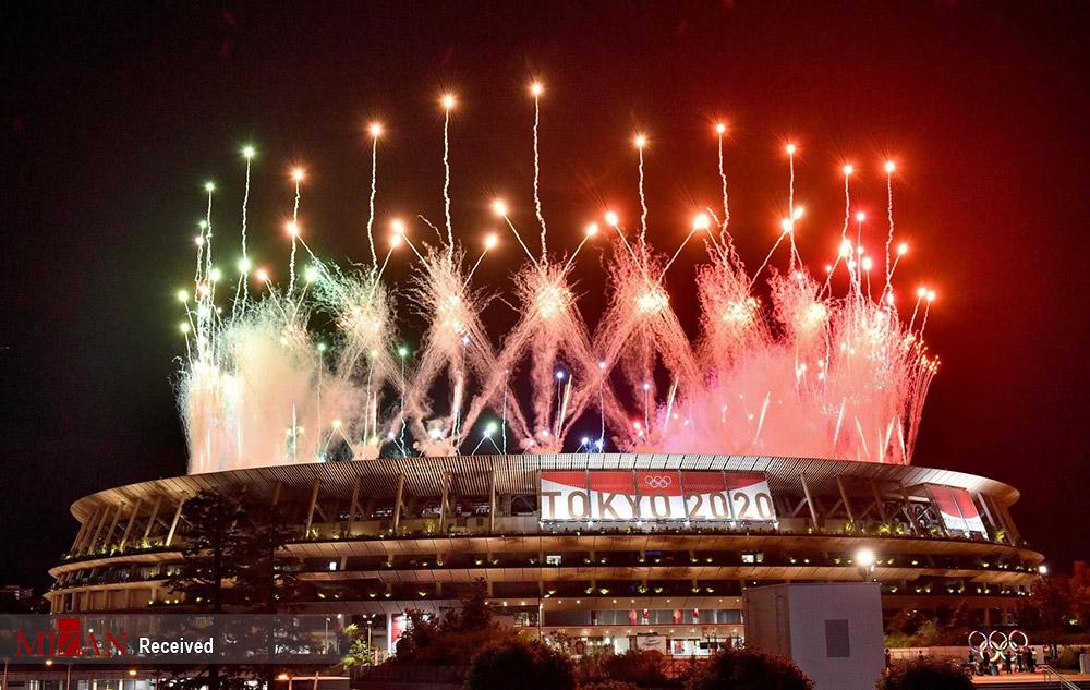 اختتامیه المپیک ۲۰۲۰ توکیو - ژاپن