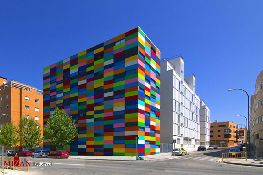 خانههای رنگارنگ در سراسر جهان