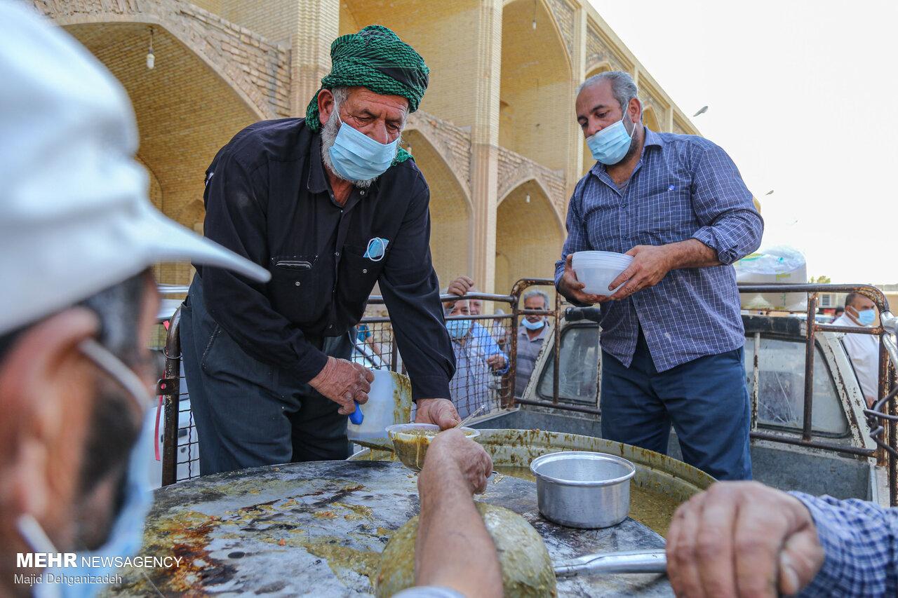 آیین سنتی نخلبندی در مهریز یزد