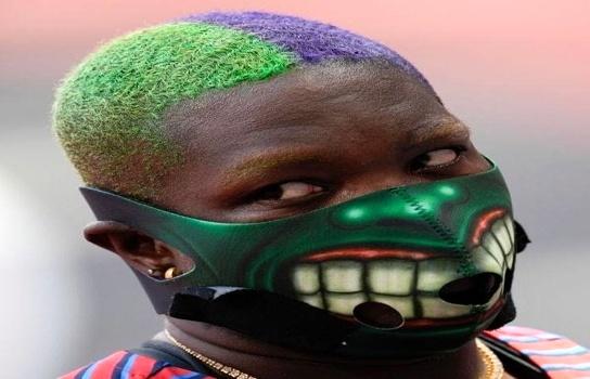 ترسناکترین مدالآور المپیک ۲۰۲۰! / تصاویر