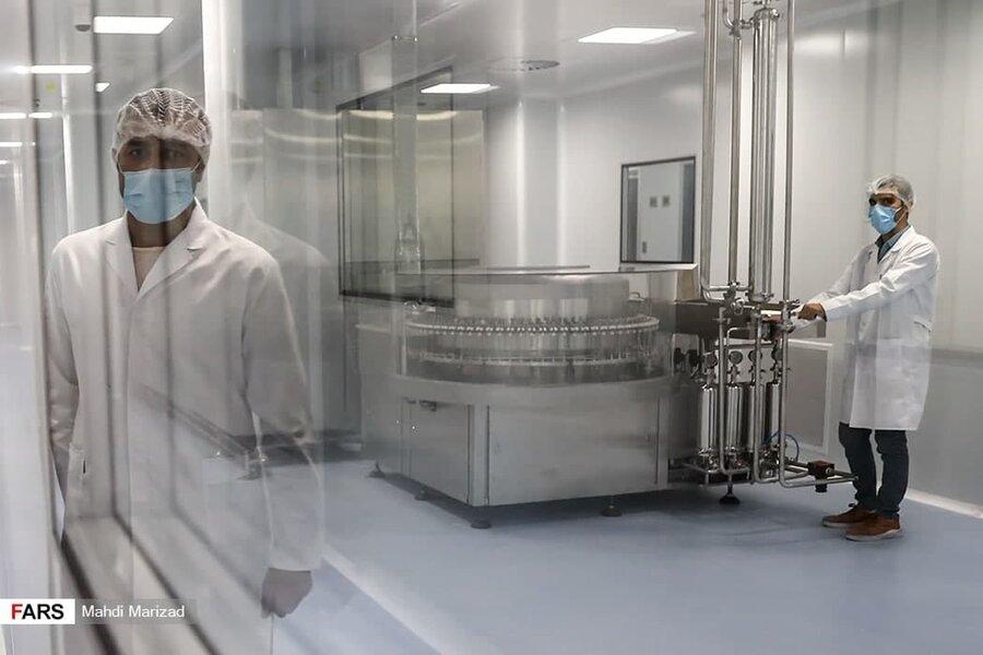 در کارخانه واکسن کرونای برکت چه میگذرد؟/ فیلم وعکس