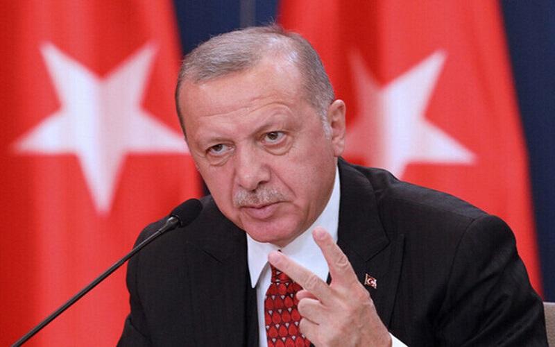 اردوغان کوچکترین تحرکی در منطقه باید با اجازه ترکیه باشد