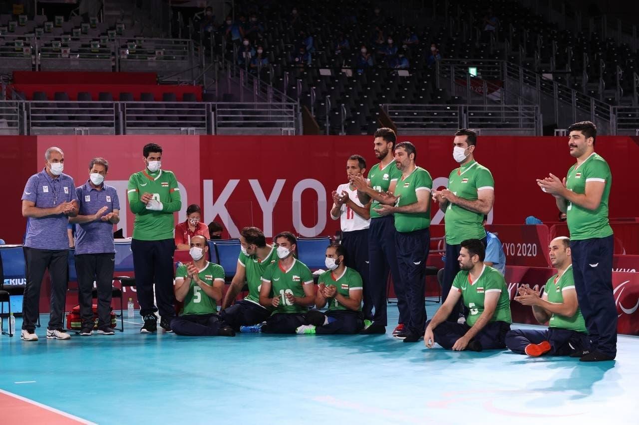 پارالمپیک ۲۰۲۰؛ صعود والیبال نشسته به نیمه نهایی