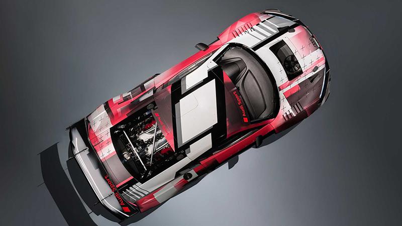 آئودی R8 LMS GT3 Evo II مدل ۲۰۲۲ با ارتقاء گسترده معرفی شد