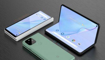 گوشی تاشو گوگل بزودی با پردازنده تنسور معرفی می شود