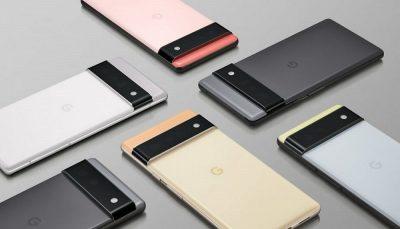 گوگل گوشی های پیکسل 6 و پیکسل 6 پرو را معرفی کرد