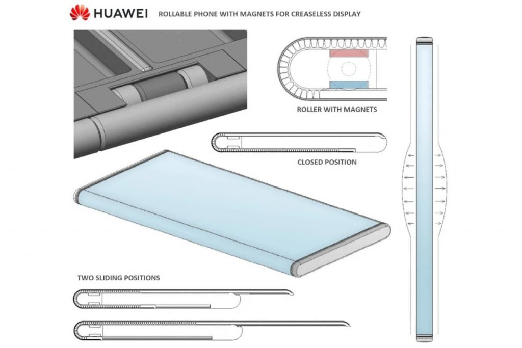 Mate X Rollable نسل جدید گوشی تاشو هوآوی است