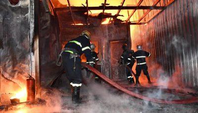 آتش سوزی در بیمارستانی در بغداد