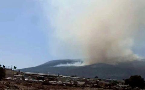 آخرین وضعیت آتش سوزی کوه نیر بویراحمد