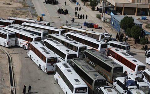 آخرین وضعیت بازگشت زوار اربعین از دو پایانه مرزی مهران و شلمچه