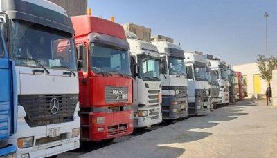 ابلاغ بخشنامه ترخیص کامیونهای دپو شده در گمرک