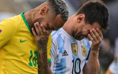 اتفاق عجیب در دیدار برزیل و آرژانتین