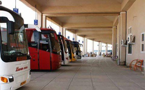 استقرار۶۰۰ دستگاه اتوبوس برای بازگشت زائران اربعین از مرزهای زمینی