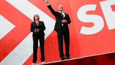 انتخابات آلمان؛ رقیب حزب مرکل با اختلاف اندک پیشتاز است