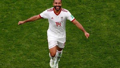 انتقاد شدید از بازیکنان عراق با عکس سامان قدوس