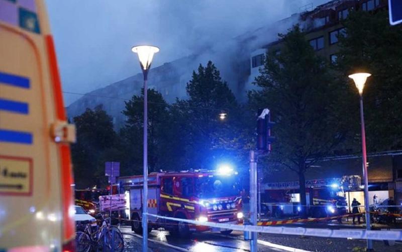 انفجار در سوئد دستکم ۲۵ مجروح برجا گذاشت