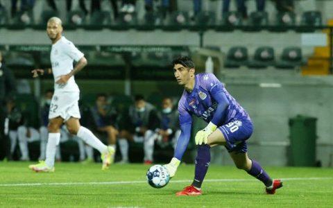 اولین حضور بیرانوند در لیگ پرتغال