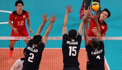 اولین پیروزی والیبال ایران در قهرمانی آسیا