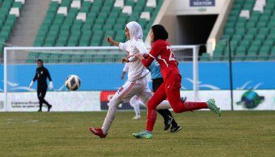 تاریخسازی بانوان فوتبال ایران با صعود به جام ملتهای آسیا