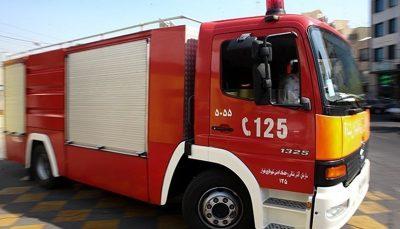 تصادف مرگبار آمبولانس با کامیون