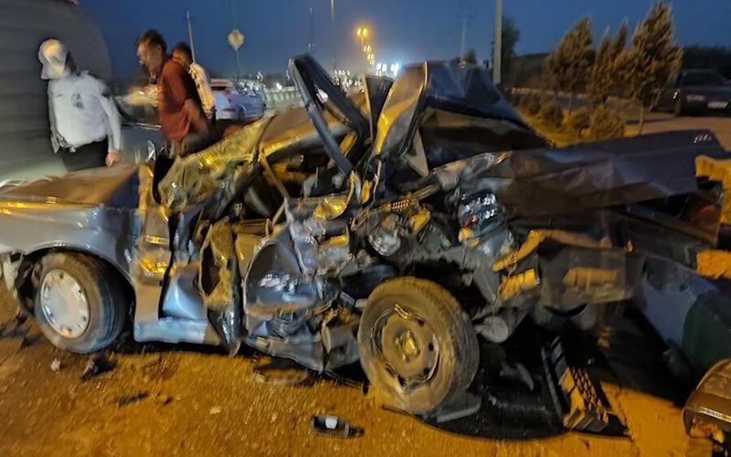 تصادف وحشتناک در جاده ورامین و نجات معجزهآسای سرنشینان