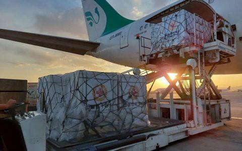 دومین محموله واکسن اهدایی از اتریش وارد ایران شد
