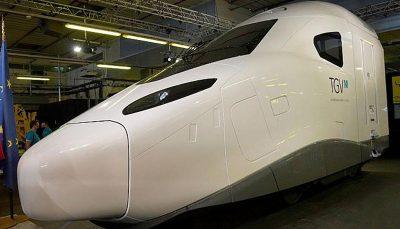 رونمایی فرانسه از نسل جدید قطارهای فوق سریع/ عکس
