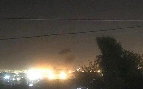 شنیده شدن صدای انفجار از سمت فرودگاه اربیل عراق