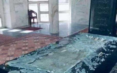 طالبان مقبره قهرمان ملی افغانستان را تخریب کرد