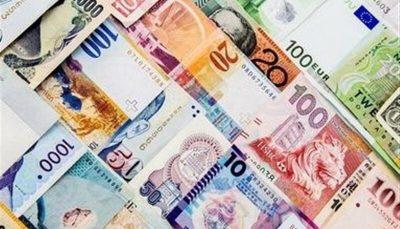 نرخ رسمی ۲۱ ارز کاهش یافت