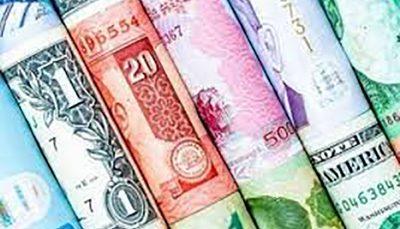 نرخ رسمی ۲۴ ارز کاهش یافت؛ ۲۹شهریور ۱۴۰۰