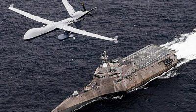 نیروی دریایی آمریکا یگان ویژه پهپادی در خلیج فارس راهاندازی میکند