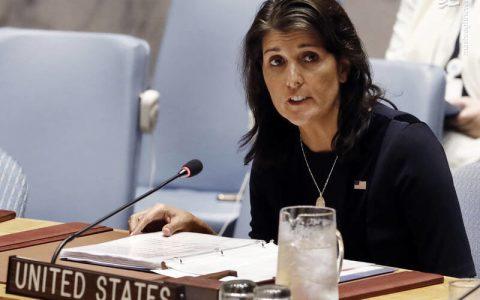نیکی هیلی:طالبان را برای ریاست دولت افغانستان نمی پذیریم