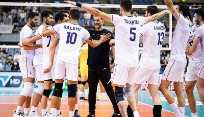 والیبال ایران با عبور از دیوار چین سهمیه جهانی گرفت