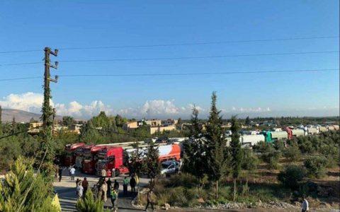 ورود دومین کاروان محموله سوختی ایران به لبنان